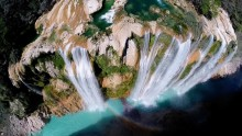 Stunningly beautiful view from the bird's-eye view Landscapes Pictures